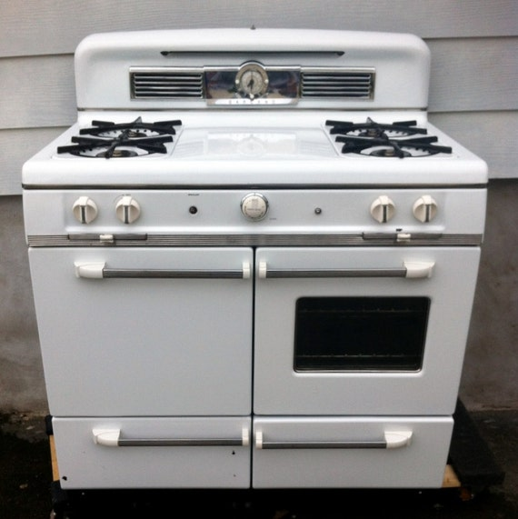 items similar to 1950 garland gas range residential