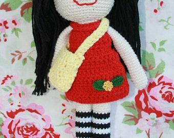 Crochet doll crochet doll, toy doll