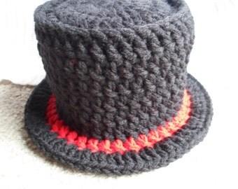 Top Hat.  Sizes Newborn-12 Months.