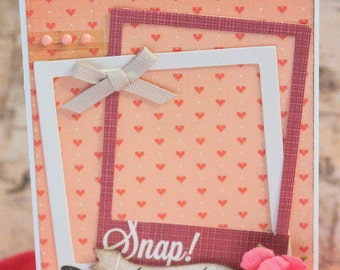 Snap! Love This Life Greeting Card