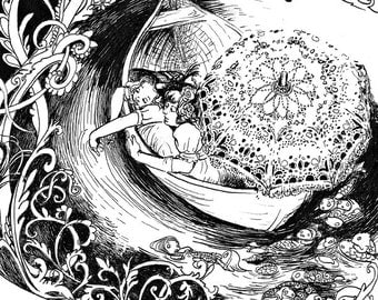 Reproduction - Boat 'Ma Mère Chantait Toujours'