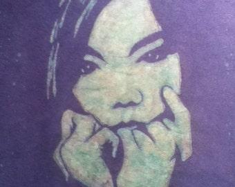 Bjork Custom Batik Tshirt