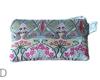 Coin Purse in Ianthe Liberty print