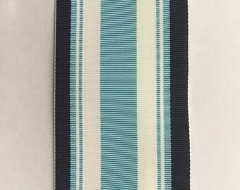 Vintage French Stripped Grosgrain Ribbon