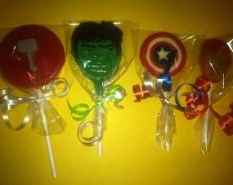 The Avengers Party Pack (20 Lollipops)