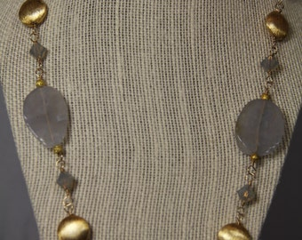 Chalcedony Necklace take 25% off!