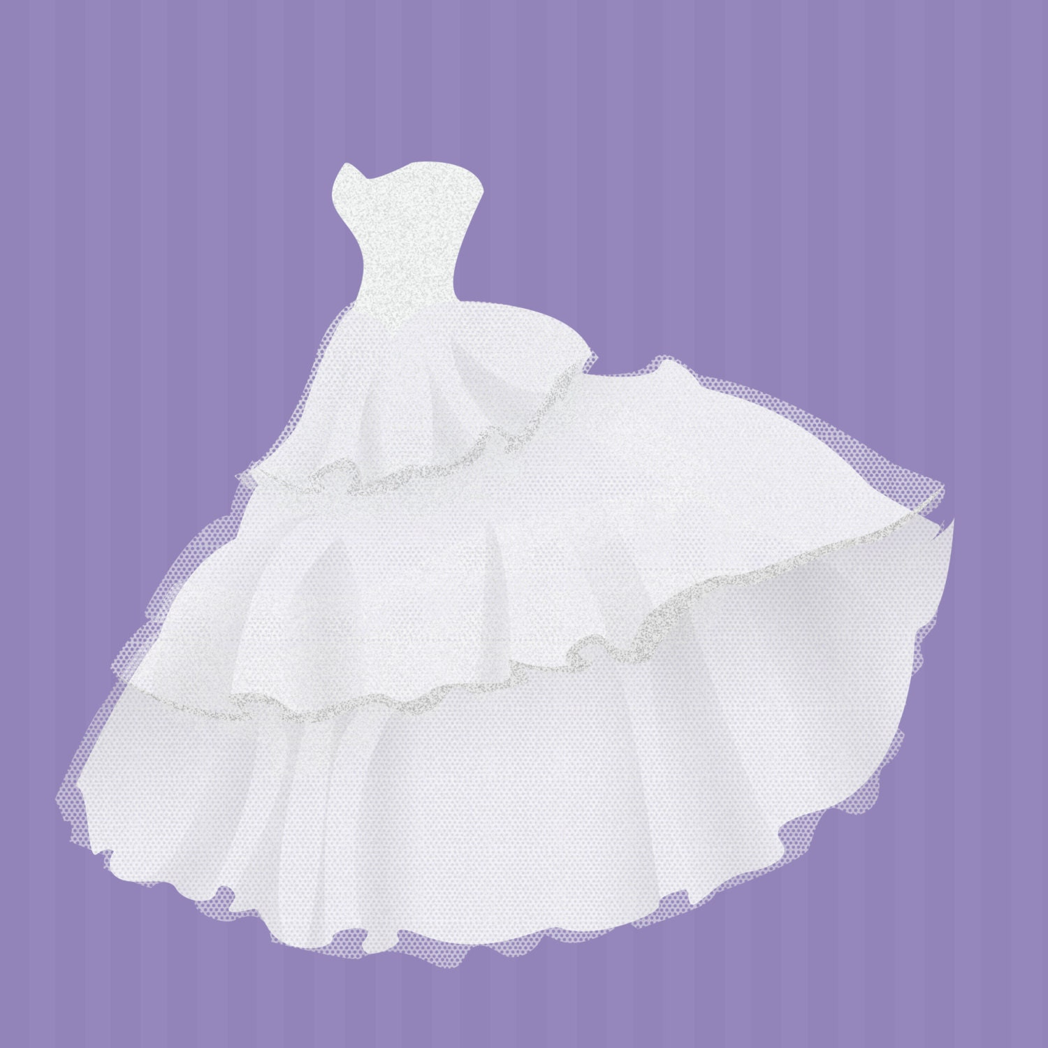 commercial use instant download wedding dresses clip art