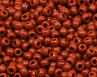 11/0 TOHO seed beads * opaque Terra cotta *-TR-11-46L - seed beads, 2.2 mm - 10 g
