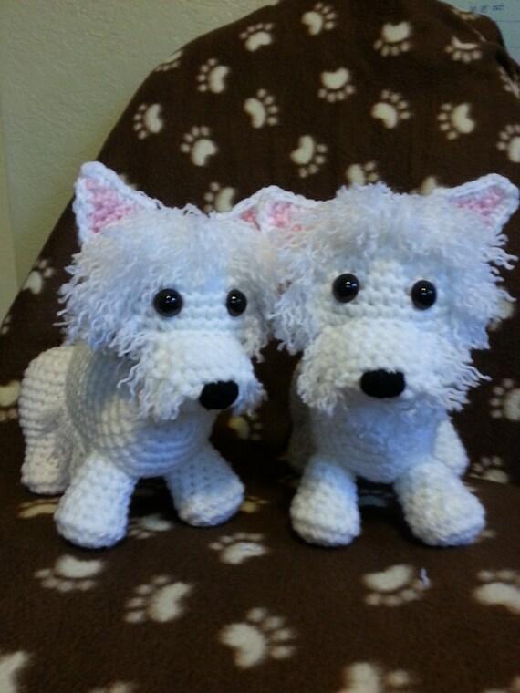 crochet Terrier Pattern UPDATED Westie Scottie Yorkie