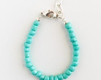 Turquoise Stacking Bracelet