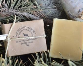 Lemongrass Goat Milk Castile Soap