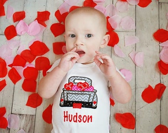 My first valentines day baby girl bodysuit baby boy bodysuit personalized birthday outfit valentines baby gift baby shower gift