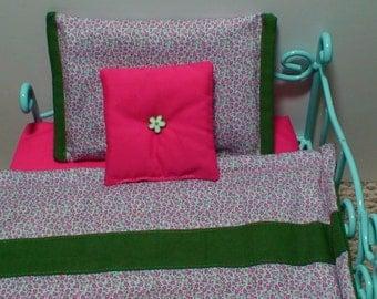 18 inch doll bedding