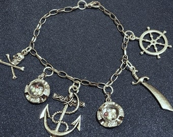 Pirates Treasure Charm Bracelet