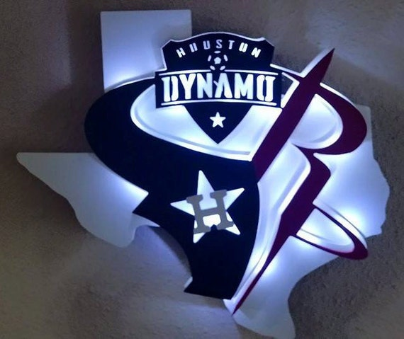 items similar to houston astros/texans/rockets/dyamos inspired