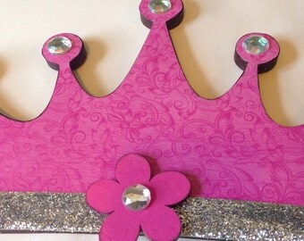 Princess Wall DECOR, Girls Room, Pink and Silver