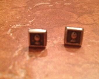 Vintage Sterling Silver Earrings 925 Jewelry