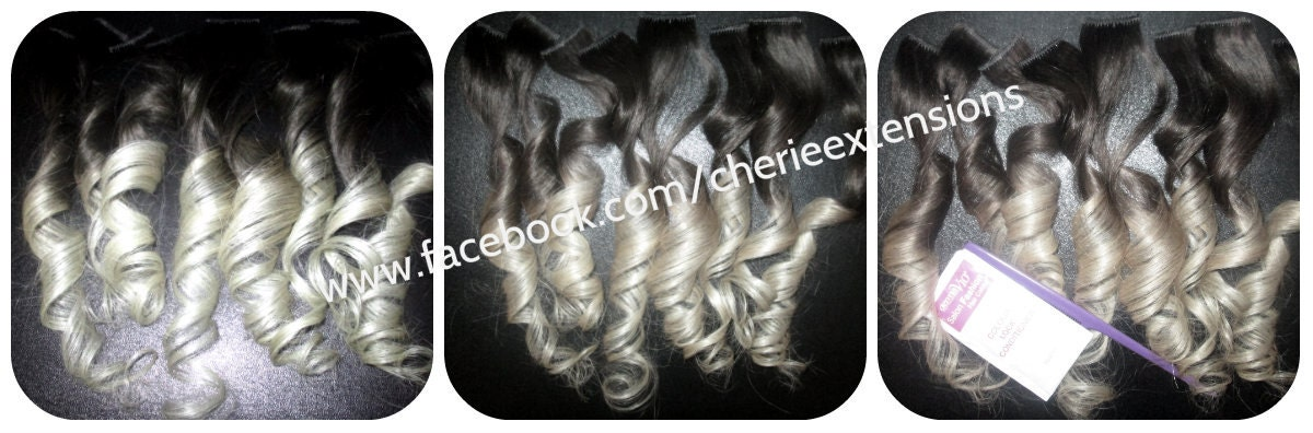 Balayage dip dye 8a remy human hair clip in colourful flashes zoom pmusecretfo Image collections