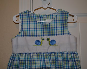 Handmade Sew Childish Dress