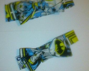 Mens batman bow Tie