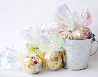 Bath Bomb Set - Bath Bomb Gift Set - Bath Fizzie - Set of 6 - Spa Set - Spa Gift Set - Spa Gift - Bath Bomb Favors - Wedding Favors