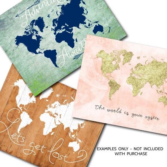 Large World Map Pdf Large World Map Printable