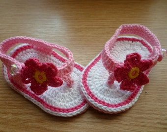 Crochet Baby Shoes, Crochet Baby Booties, Crochet Baby Flip Flops, Crochet Baby Sandals, Baby Girl Shoes, Baby Shoes