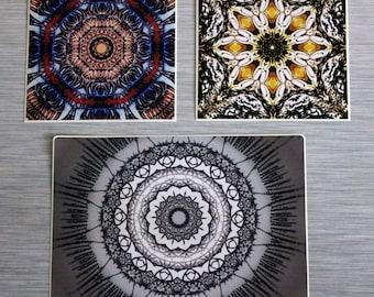 Kaleidoscope Mandala Sticker Combo Pack Set Of 3