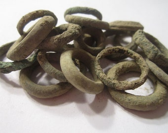 Celtic Ring Money -  La Tene Bronze Age Proto Currency from England - ONE PIECE