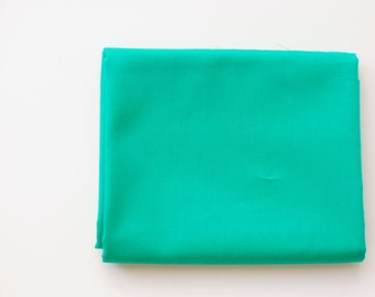 green solid fabric   Emerald   Pure Elements Solids by Art Gallery Fabrics, teal, soft fabric by the yard, fat quarters