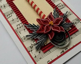 Merry Christmas Card - Handmade Card