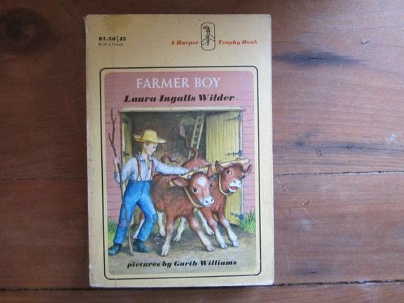 Farmer Boy Laura Ingalls Wilder by Laura Ingalls Wilder