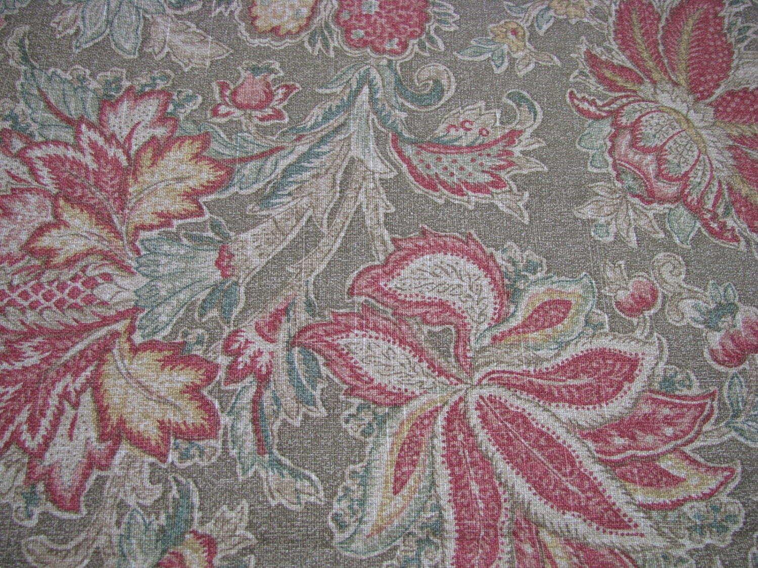 Floral Upholstery Fabric Sample By P By Twocousinscollection