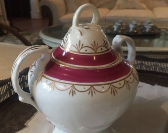 Large Vintage Sugar Bowl