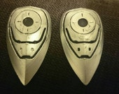 Star-Lord Guardians Inspired Cosplay Boot Jet Booster Controls Accessory Pair