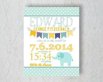 New Baby Print - Baby Bunting