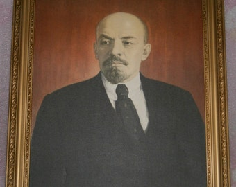 Picture of Lenin Reproduction frame of the USSR