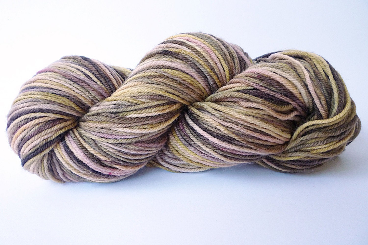 Worsted Weight Yarn : Hand Dyed Yarn Worsted Weight Yarn Superwash by IriaYarnCompany