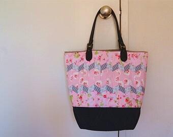 Handmade Seminole patchwork padded bag
