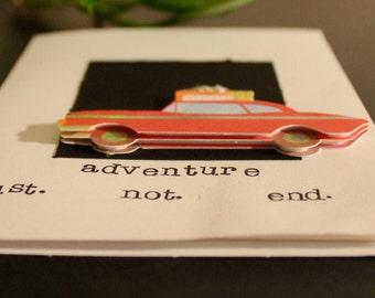 Handmade New Year's Card