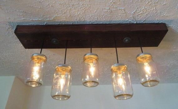 5 pendant jar chandelier kitchen lighting jar