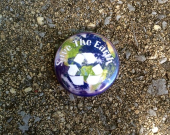 Save The Earth Pinback Button
