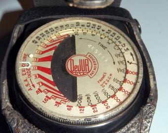 1940s Light Exposure Meter, DeJur Amsco Model 50