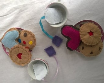 Felt Cookies and Tea Bag Set (small)