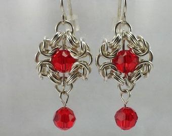 Sterling Silver Romanov Earrings