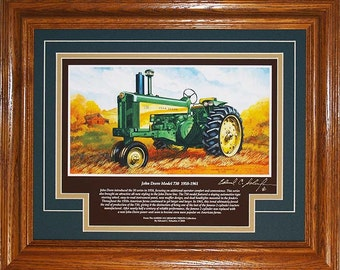 John Deere Model 730 1958 to 1961 with History