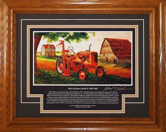 Allis Chalmers Model B 1937 to 1957 with History