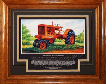 Allis Chalmers Model WC 1934 to 1938 with History
