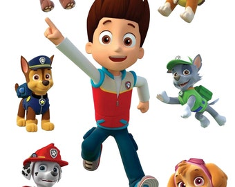 Paw Patrol Removable Wall Decals