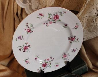 "Royal Victoria Fine Bone China Plate - Victorian Floral 8"""